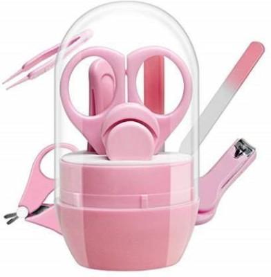 VADHAVAN 4-in-1 Baby Grooming Kit (Pink)