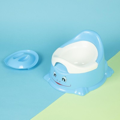 Baby Moo Smiley Blue Potty Chair Potty Seat Blue