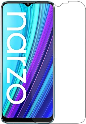 Knotyy Tempered Glass Guard for Realme Narzo 30A(Pack of 1)