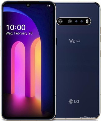 LIGHTWINGS Front and Back Tempered Glass for LG V60 ThinQ 5G UW(Pack of 2)