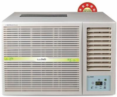 Lloyd 1.5 Ton 5 Star Window Inverter AC - White(LW19I52MZ, Copper Condenser)
