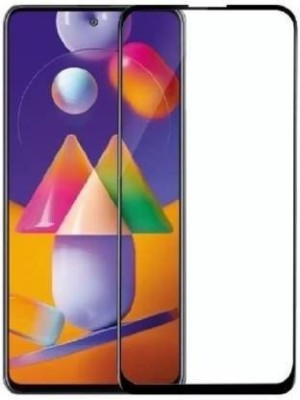 A.S.ENTERPRISES Edge To Edge Tempered Glass for Samsung Galaxy M31S(Pack of 1)