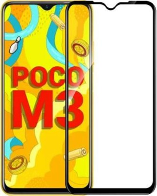 EASYBIZZ Tempered Glass Guard for Poco M3, Redmi 9 Power(Pack of 1)