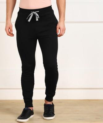 KILLER Solid Men Black Track Pants