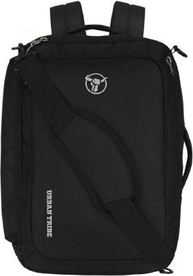 Urban Tribe Trans4mer v2.0 multipurpose Backpack cum Messenger Bag cum overnighter cum Briefcase 20 L Laptop Backpack Black Urban Tribe Backpacks
