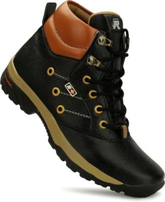 Reflexx Stylish Boots For Men(Black)