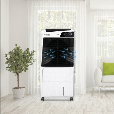 Hindware 100 L Desert Air Cooler(Black, FASCINO)