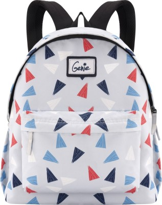 Genie Confetti Grey 13 litre Casual Backpack 13 L Backpack(Grey)
