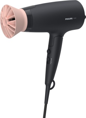 PHILIPS BHD356/10 2100W Thermoprotect AirFlower Advanced Care 6 Heat & Speed Settings (Black) Hair Dryer(2100 W, Black)