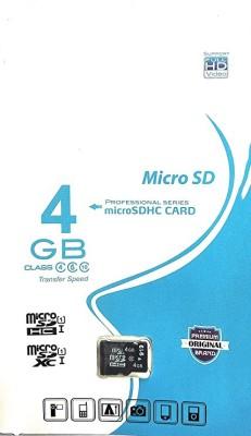 SPORTS SPIRIT PROFESSIONAL 4 GB MicroSD Card Class 10 100 MB/s Memory Card