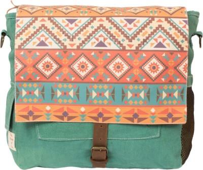 The House of Tara African Print Bag 13 L Medium Backpack Multicolor The House of Tara Backpacks