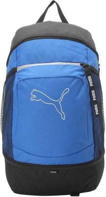 PUMA Echo Backpack IND 22 L Backpack Blue, Black PUMA Backpacks