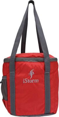 Istorm LUNCHBAGFP RED 2 T Waterproof School Bag Red, 8 inch Istorm Bags, Wallets   Belts