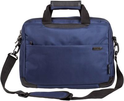 Cosmus 15.6 inch Laptop Messenger Bag(Blue, Black)