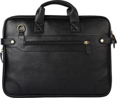 ROVER 14 inch Laptop Messenger Bag Black ROVER Laptop Bags