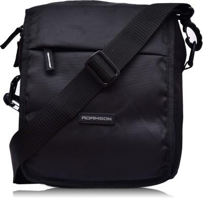 ADAMSON Black Sling Bag Travel Side Bag