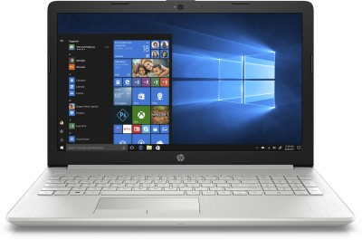 HP 15 Ryzen 3 Dual Core 3200U - (4 GB/1 TB HDD/Windows 10 Home) 15-db 1059AU Laptop(15.6 inch, Natural Silver, 1.9 kg, With MS Office)