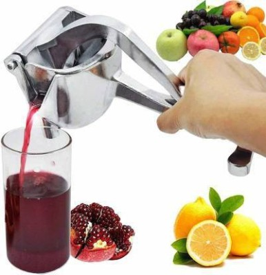 Silent Enterprise Steel Hand Juicer Stainless Steel Lemon-Fruit Squeezer - Heavy Duty Hand Press Fruit Juicer - Lemon Lime Squeezer...