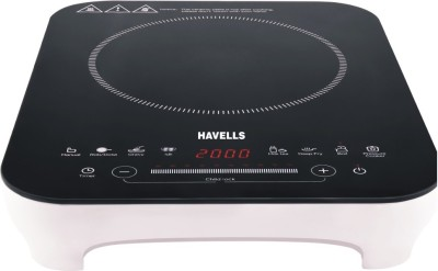 HAVELLS DT Induction Cooktop(White, Black, Touch Panel)