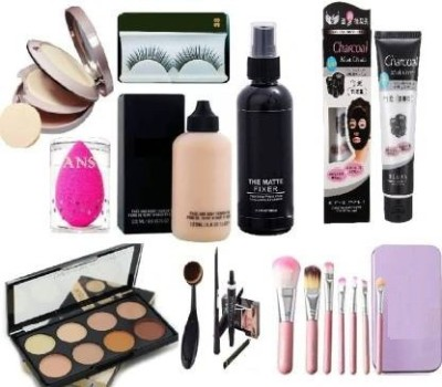 Ans Makeup Combo Kit Set Of 12 (12 item in 1 set)(12 Items in the set)