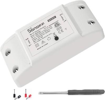 Sonoff Basic R2 WiFi Switch for Home Automation, Smart WiFi Wireless Switch,...