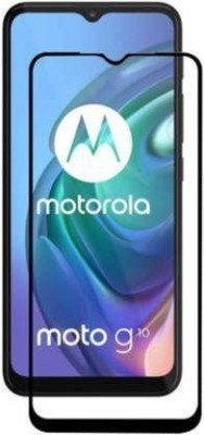Ravbelli Edge To Edge Tempered Glass for Motorola G10 Power, Moto G10 Power(Pack of 1)