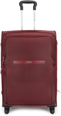 VIP Turboflex Str Exp 4 Wheel 56 Red Expandable Cabin Luggage   22 inch VIP Suitcases