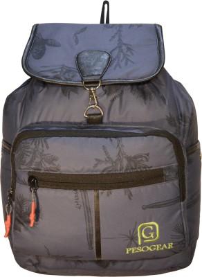 Pesogear Women   Girls Stylish Backpack 10 L Backpack Grey Pesogear Backpacks
