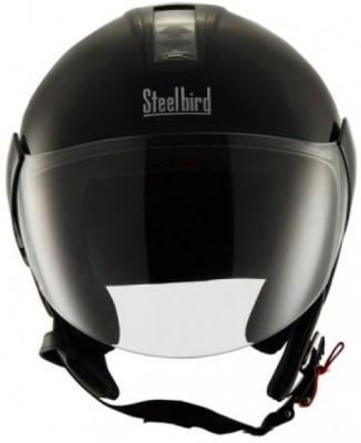 Steelbird SB-33 EVE Naturals Motorsports Helmet(Black)