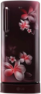 LG 308 L Double Door Refrigerator (GL-C322RDSU, Dazzle Steel) 1