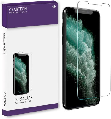 CZARTECH Tempered Glass Guard for Apple iPhone XR, iPhone 11(Pack of 1)