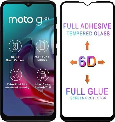 Micvir Tempered Glass Guard for Motorola Moto G30, Motorola Moto G10 Power(Pack of 1)