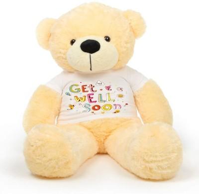 Hug 'n' Feel Big Teddy Bear Wearing get Well Soon T Shirt   60 inch Multicolor Hug 'n' Feel Soft Toys