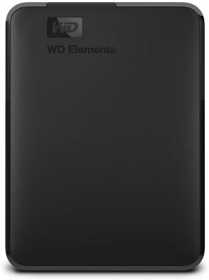 WD 5 TB External Hard Disk Drive(Black)