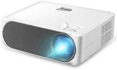 AUN Full-HD AKEY6 6800 Lumens Home Theater 1080P Basic Version USB*2, HDMI, VGA, AV, SD Card Full-HD LED Projector Portable...