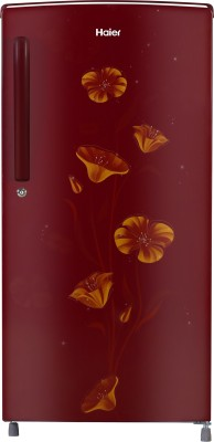 Haier 182 L Direct Cool Single Door 2 Star Refrigerator(Red Freesia, HED-18TRF)