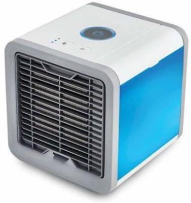 Dwarkesh matiriyal 5 L Room/Personal Air Cooler(Blue, Mini Portable Air Cooler Fan Arctic Air Personal Space Cooler The Quick &...