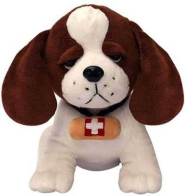 Fun Zoo Cute Swiss dog 30 cm Stuffed soft toy for kids   30 cm Multicolor Fun Zoo Soft Toys
