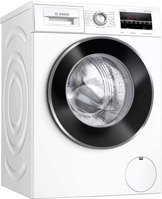 BOSCH 8 kg Fully Automatic Front Load with In-built Heater White(WAJ2846WIN)