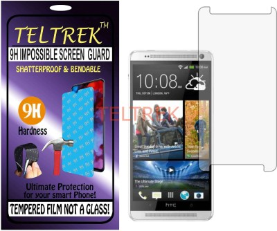 TELTREK Tempered Glass Guard for HTC ONE MAX 16GB (Flexible, Unbreakable)(Pack of 1)