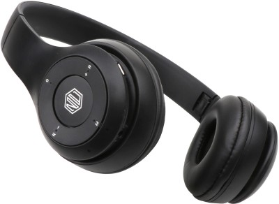 Nu Republic Dubstep X3 Bluetooth Headset (Black, On the Ear)