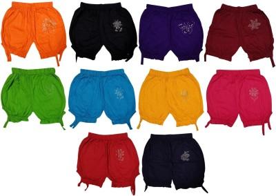 tohubohu Capri For Girls Casual Printed Hosiery(Multicolor Pack of 10)