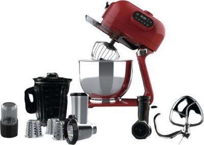 Hafele Highline Series Klara Highline - Murphy Red, Kitchen Machine Multi-functional Blender with 5.5L Mixing Bowl, 200ml spice grinding and...