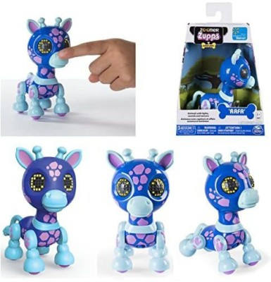 SPIN MASTER Zoomer Zupps Interactive Giraffe with Lights, Sounds and Sensors ~ Rafa Multicolor SPIN MASTER Remote Control Toys