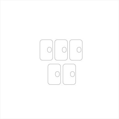Ten To 11 Camera Lens Protector for Motorola G10 Power(Pack of 5)