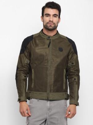 ROYAL ENFIELD RRGJKK000011 Riding Protective Jacket(Green, XXL Regular)
