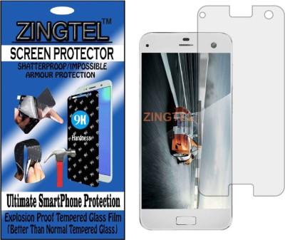 ZINGTEL Tempered Glass Guard for LYF EARTH 2  LS 5021   Flexible, Unbreakable  Pack of 1 ZINGTEL Screen Guards