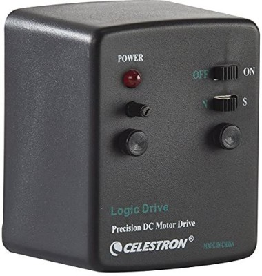 CELESTRON AstroMaster/ PowerSeeker Motor Drive for EQ Telescopes Reflecting Telescope(Automatic Tracking)