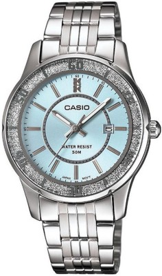 CASIO A804 Enticer Lady's   LTP 1358D 2AVDF   Analog Watch   For Women CASIO Wrist Watches