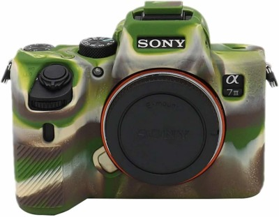 digiclicks Silicon Cover Case Compatible with Sony Alpha A7-R3, Professional Silicone Rubber Camera Case Cover Detachable Protective - Camouflage Camera...